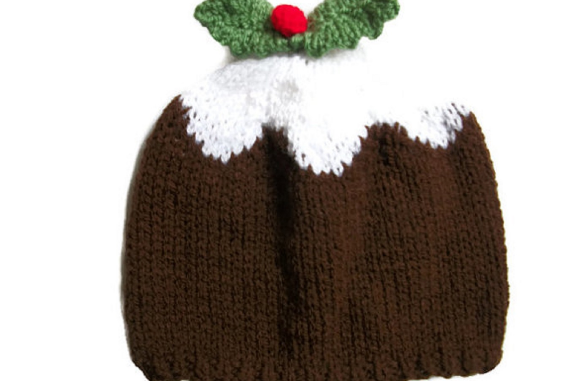 Xmas Pudding Hat As Seen On Eastenders Hand Knit Hats For Men