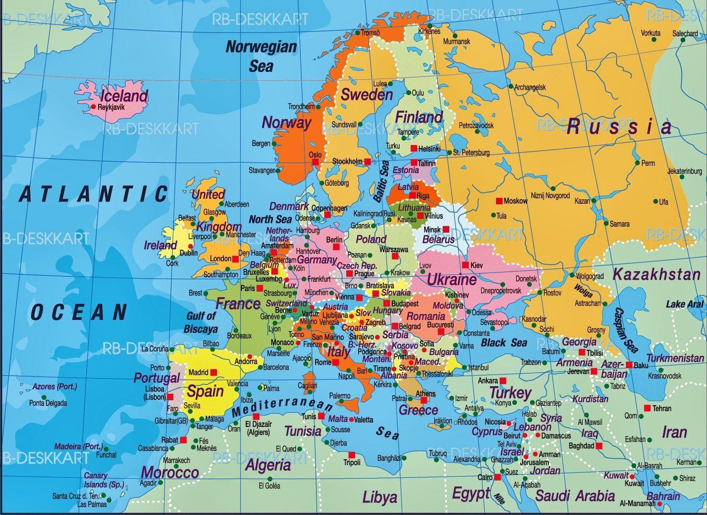 Europakarta Sok Pa Google Ryssland Karta