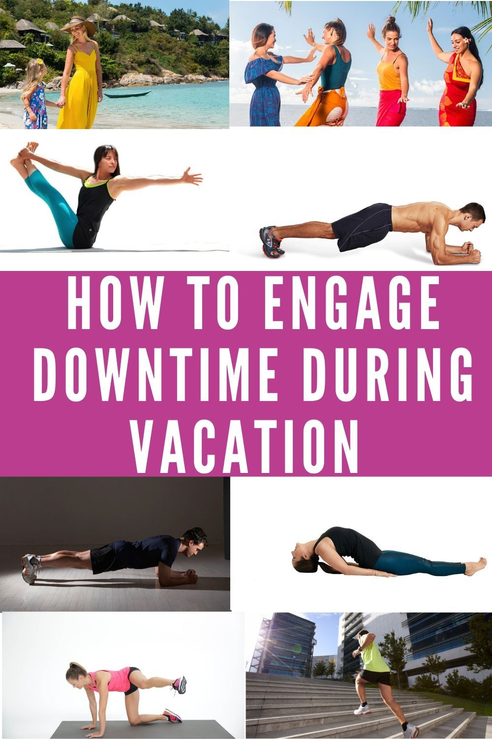 10 Intense Vacation Exercises For Travelers Exercise Physique Training Workout