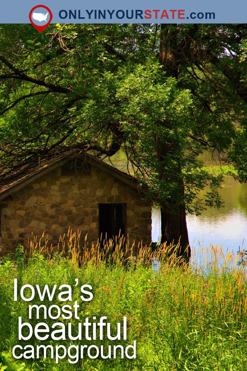 This Just Might Be The Most Beautiful Campground In All Of Iowa