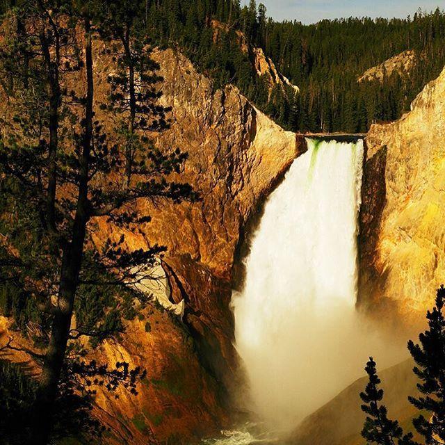 Upper Falls #Yellowstone National #park #Landscapes #Nature - Dollar Stock Images - http://kozzi.tv/V4uOd