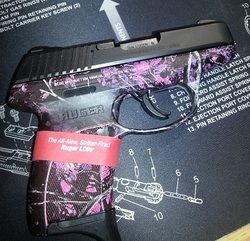 Ruger LC9s in Muddy Girl $360.00Loading that magazine is a pain! Get your Magazine speedloader today! http://www.amazon.com/shops/raeind