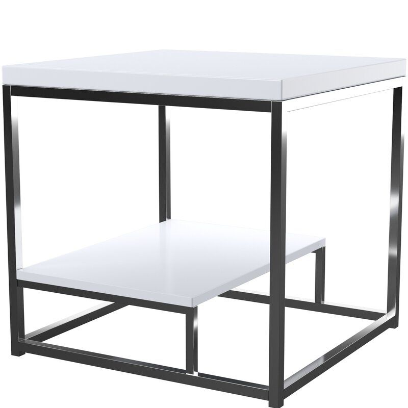 Mercury Row Philippos Frame End Table With Storage Ad Ad Affiliate Philippos Storage Table Row End Tables With Storage End Tables Table