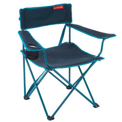 Camping Chair Foldable Armchair Grey Chaises De Camping Chaise Pliante Chaise Fauteuil