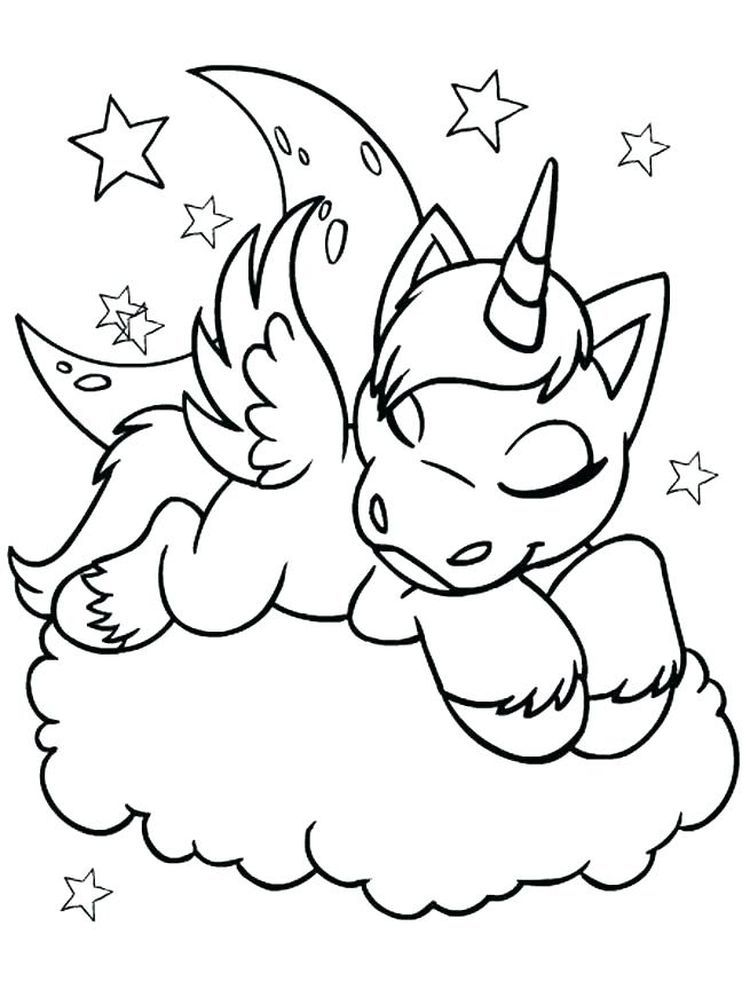 flying unicorn coloring pages printable. Unicorns are very ...