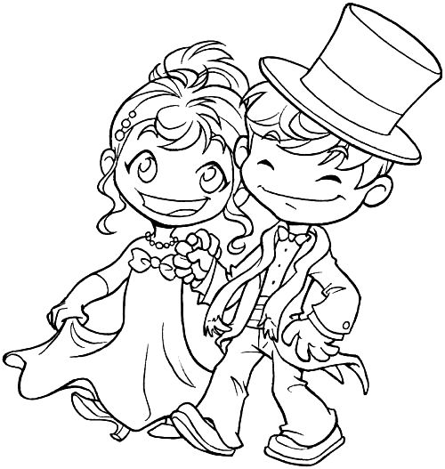 Ben and Nora - New Year couple | Digi Stamps 2 | Pinterest | Dibujos ...