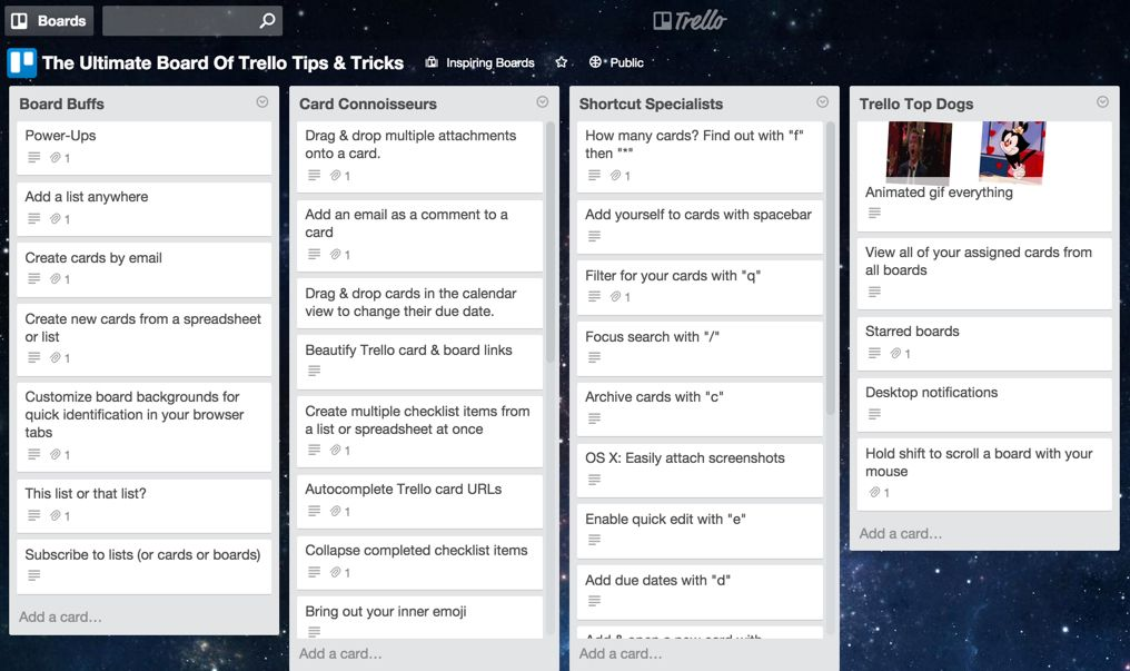 Dangerously Productive The Ultimate Board of Trello Tips and Tricks