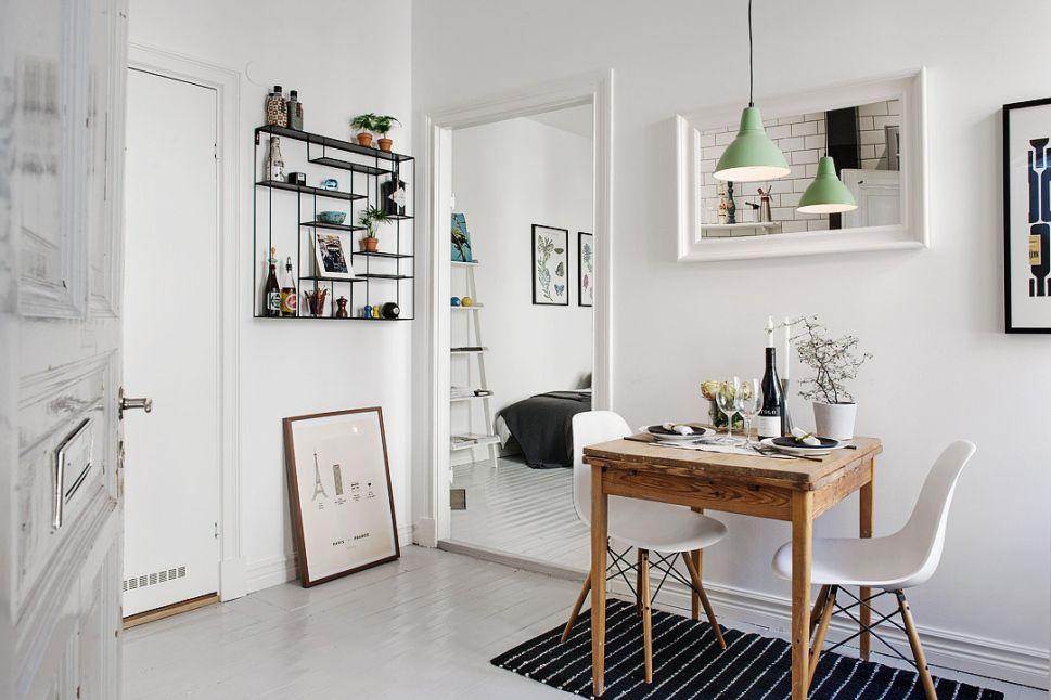 Kitchen Table Studio Apartment