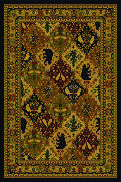 Southwestern And Lodge Rugs Cabin
