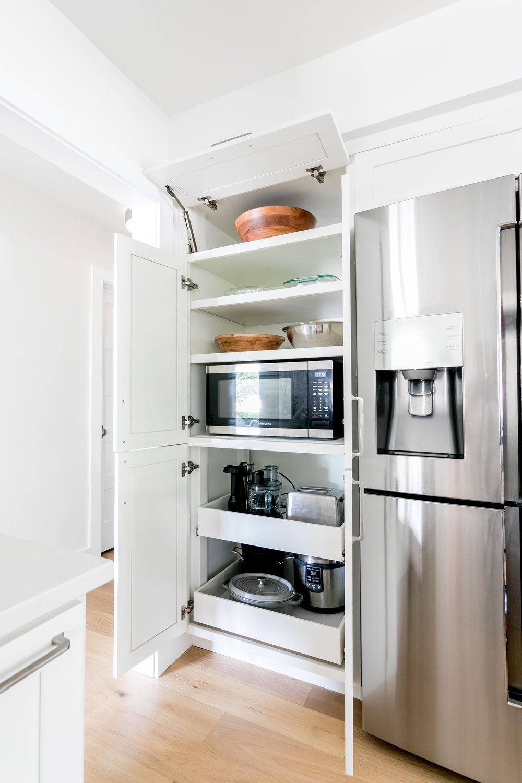 Brentwood Hello Kitchen In 2020 Kitchen Pantry Design Kitchen Appliances Layout Inside Kitchen Cabinets