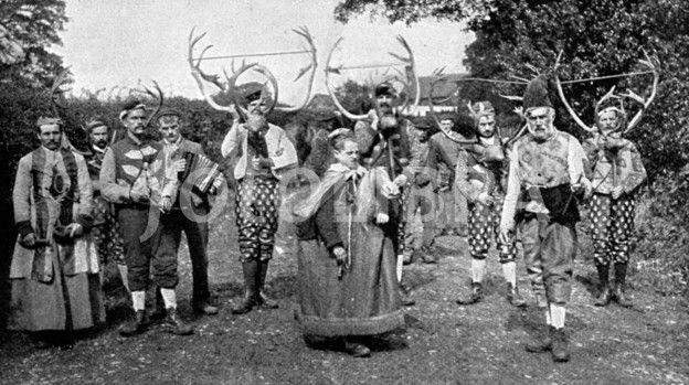 Abbots Bromley horn dancers