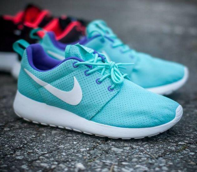 Nike Roshe Run White Hyper Grape Hyper Turquoise Nike Roshe Run Nike Roshe Nike