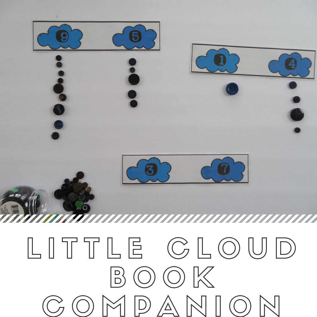 Little Cloud Comparing Numbers