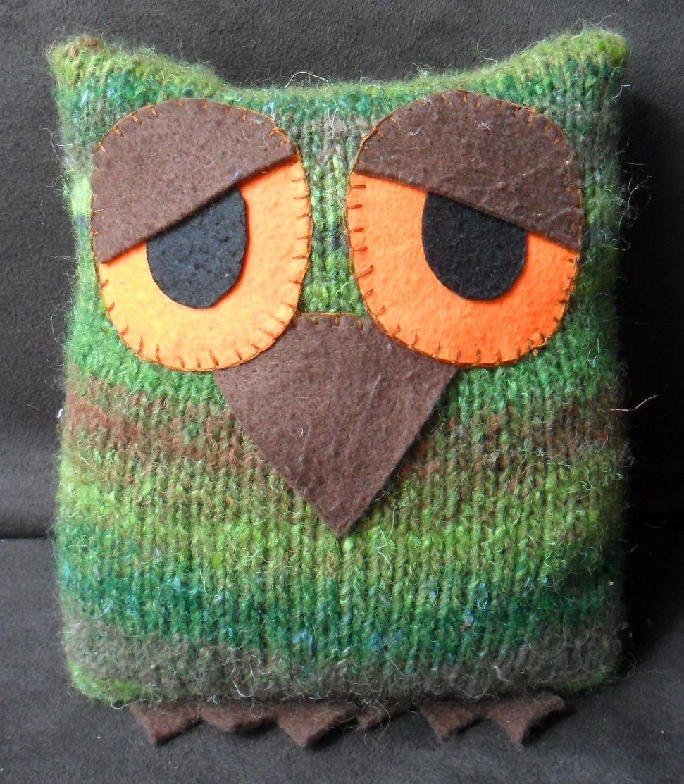 Free Owl Knitting Pattern Unique Decoration