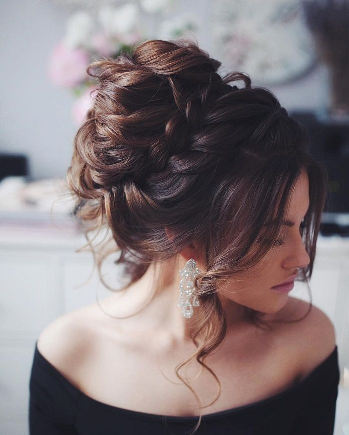 36 Messy wedding hair updos for a rustic country