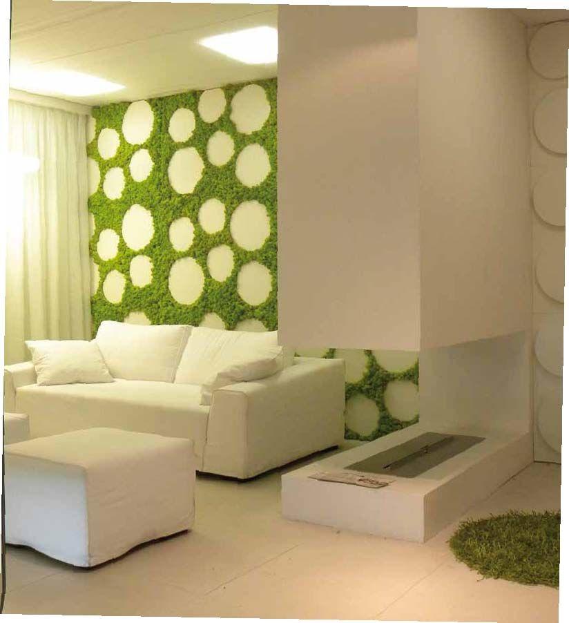 Revestimiento realizado con jardin vertical Mosswall Diseño para