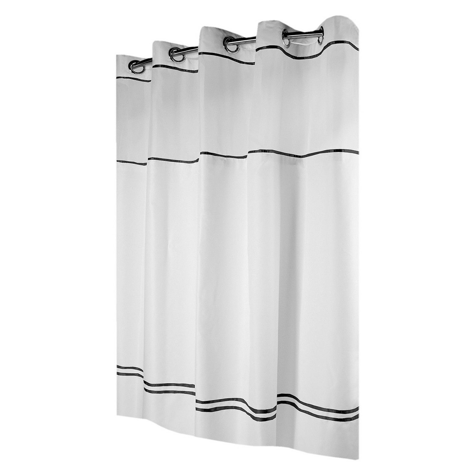 Our Monterey Hookless Shower Curtain Is Perfect For The Person