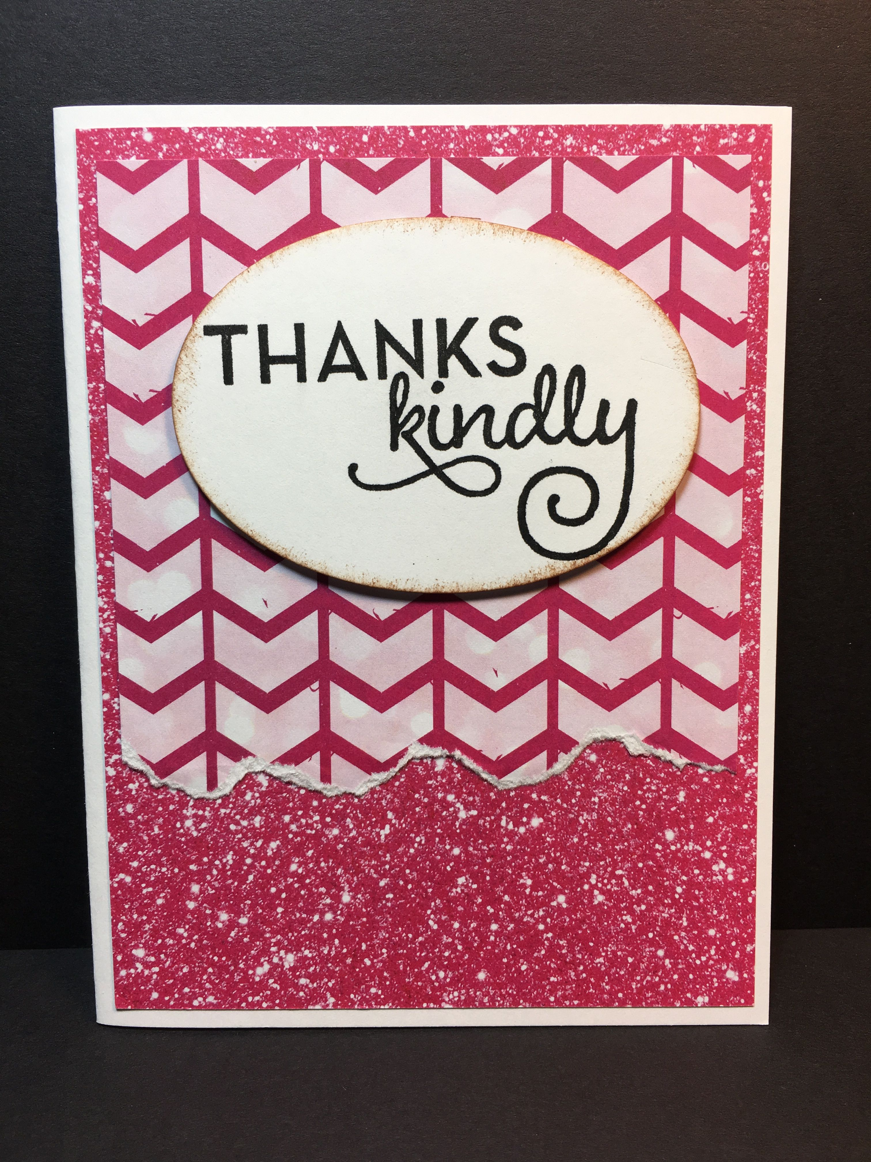 Stamp set One Big Meaning by Stampin Up