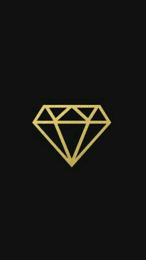 Black And Gold Diamond Black Diamond Wallpaper Diamond Wallpaper