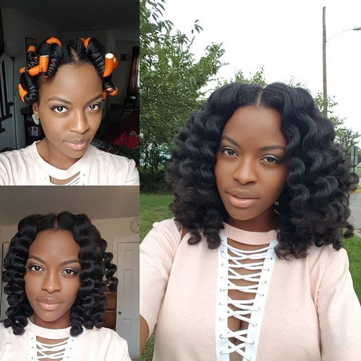 5 722 Likes 26 Comments Voiceofhair Stylists Styles Voiceofhair On Instagram So Crisphair By Detroithai Blowout Hair Natural Hair Styles Marley Hair