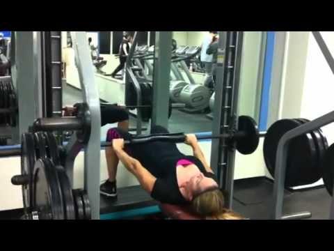 Smith Machine Glute Raises | Fitness | Smith machine workout