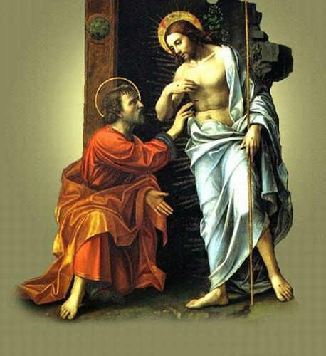 Jesus y Santo Tomás