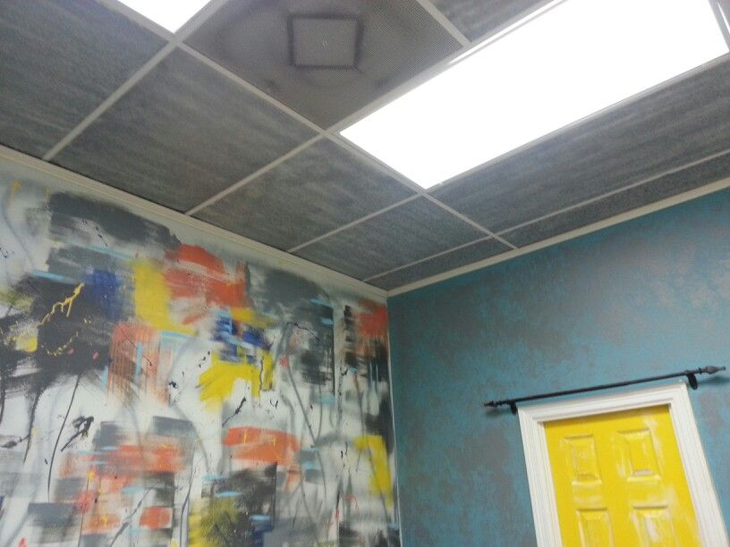Ceiling Tiles Spray Paint Mkover Yeah Painting Ceiling Tiles Spray Paint