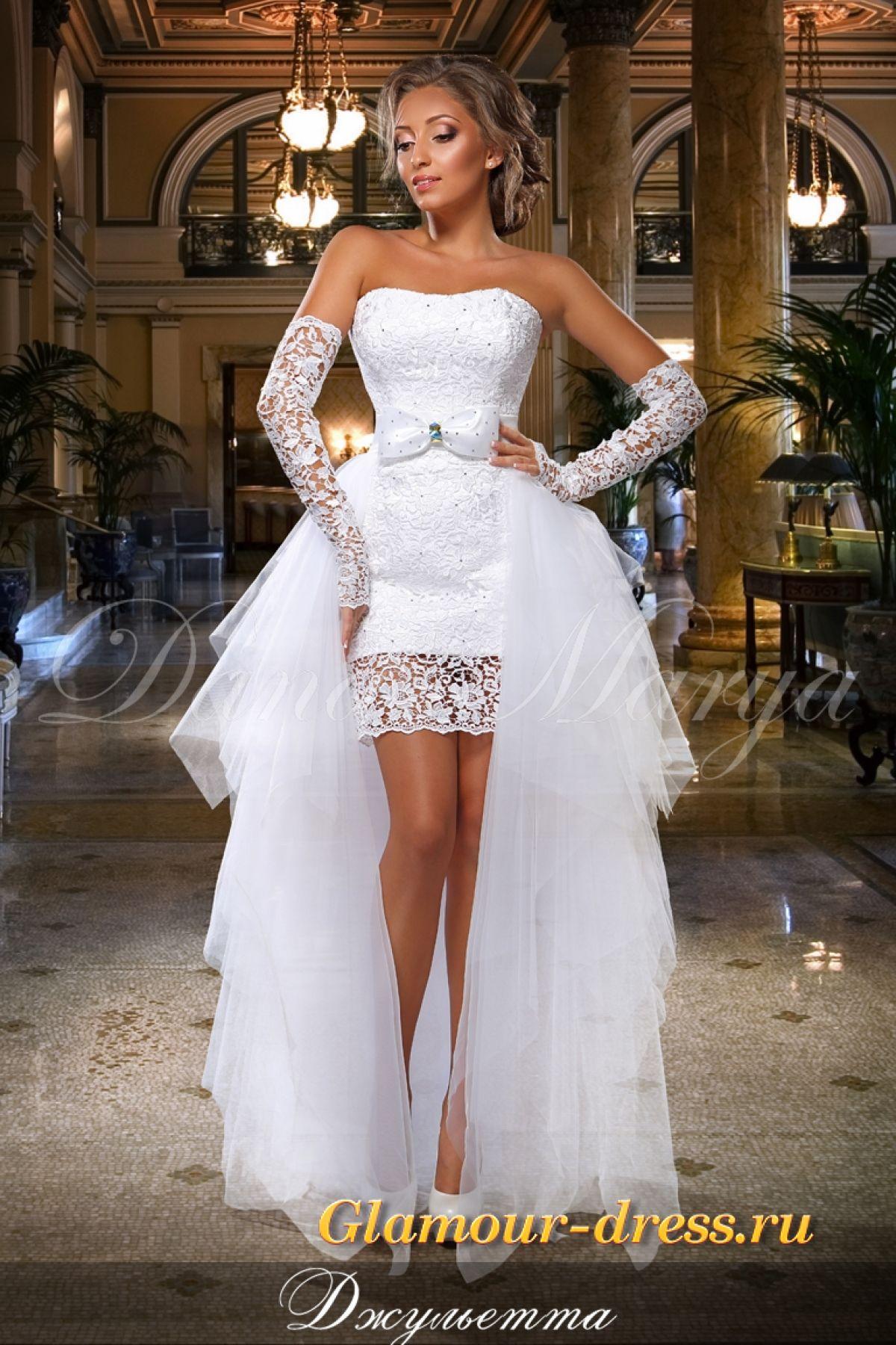 e3de4022618 Свадебное платье трансформер Джульетта спб