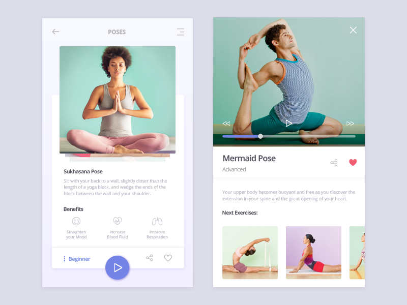 Yoga Time! | Fitness & Weight loss Apps | Yoga poses, Yoga poses for
