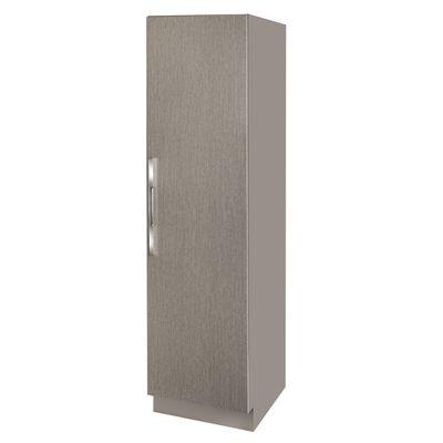 Cutler Modern Living Latitude East 18-in W x 72-in H x 20-in D Slab 1- Door Linen Cabinet