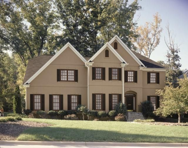 Best Chocolate And Cream Colored Exterior Exterior New House 640 x 480