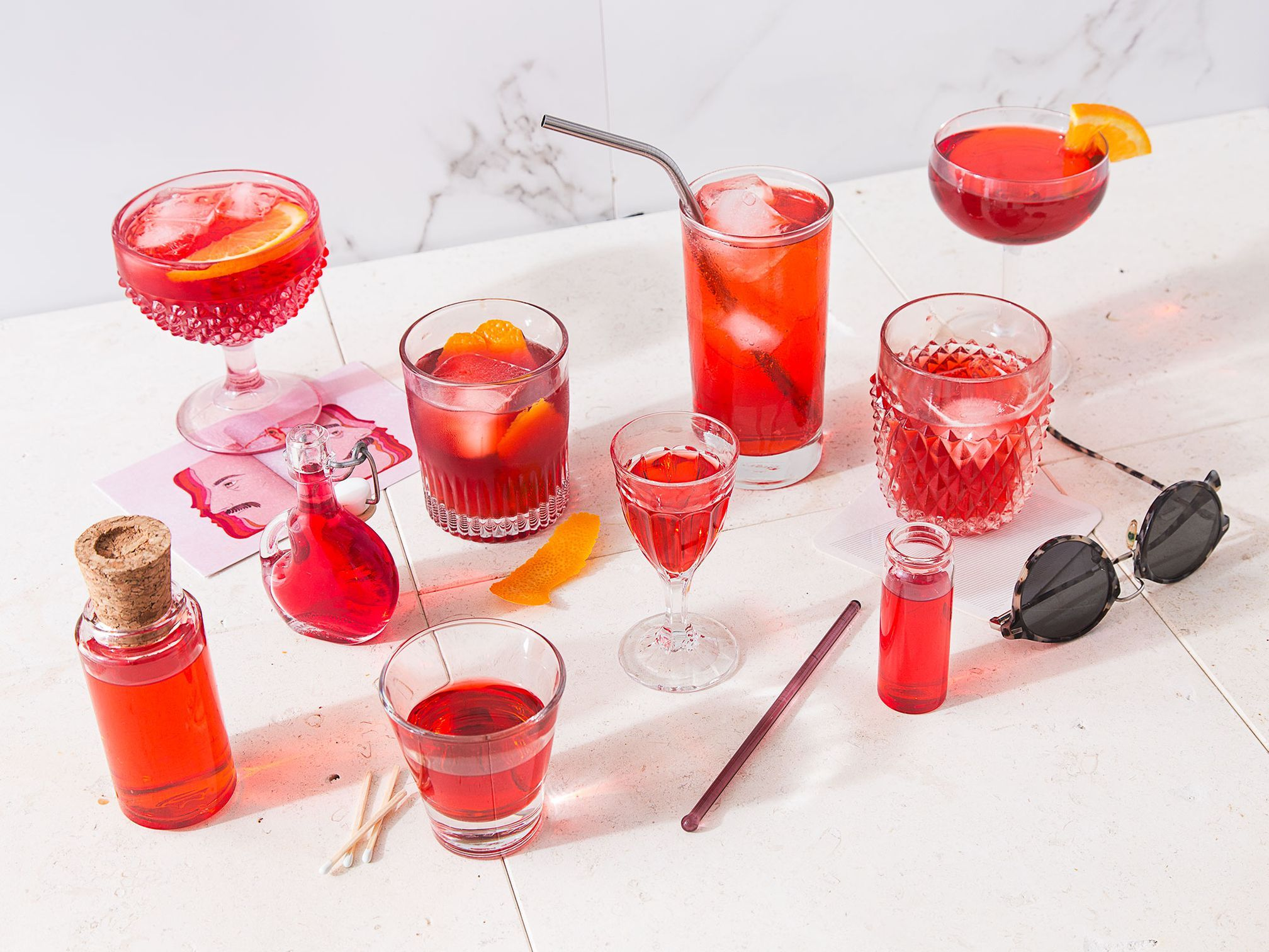 A Field Guide To The Great Wide World Of Bitter Red Italian Spirits Italian Drinks Campari Food Issues
