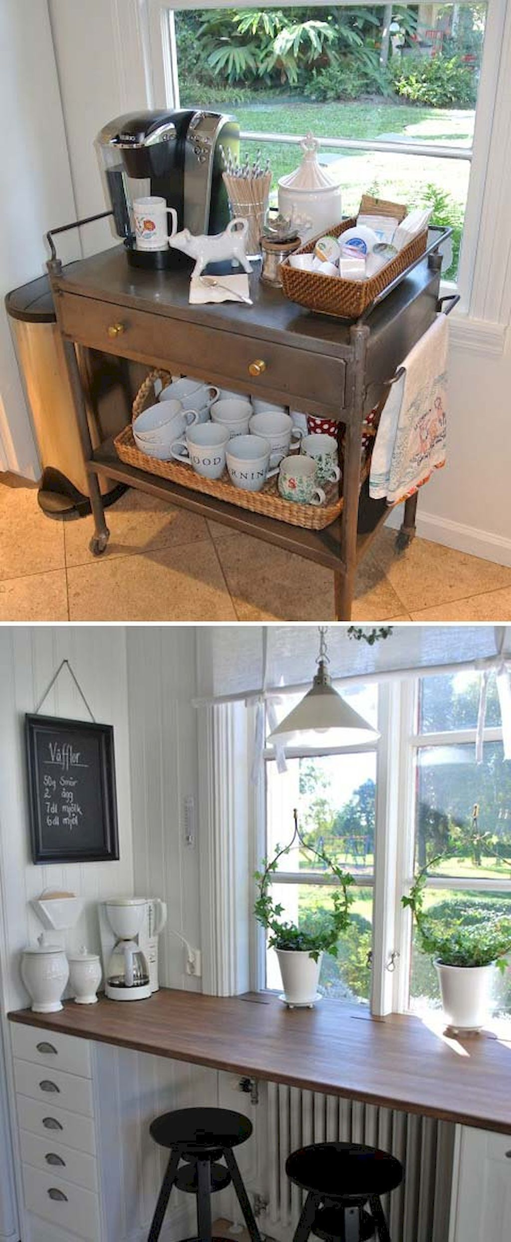 diy mini coffee bar ideas for your home coffee bar