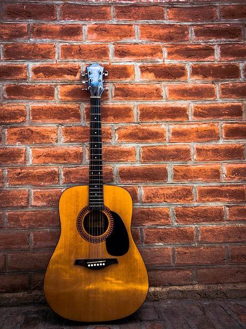 Free Image on Pixabay - Music, Guitar, Vintage, Colorful