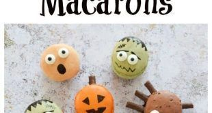 4 Fun and Easy Halloween Macarons #halloweenmacarons 4 Fun and Easy Halloween Macarons #halloweenmacarons