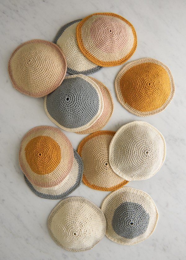 Crocheted Yarmulkes | Purl Soho | STITCHES | Pinterest