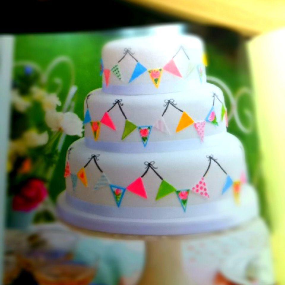 banner cake