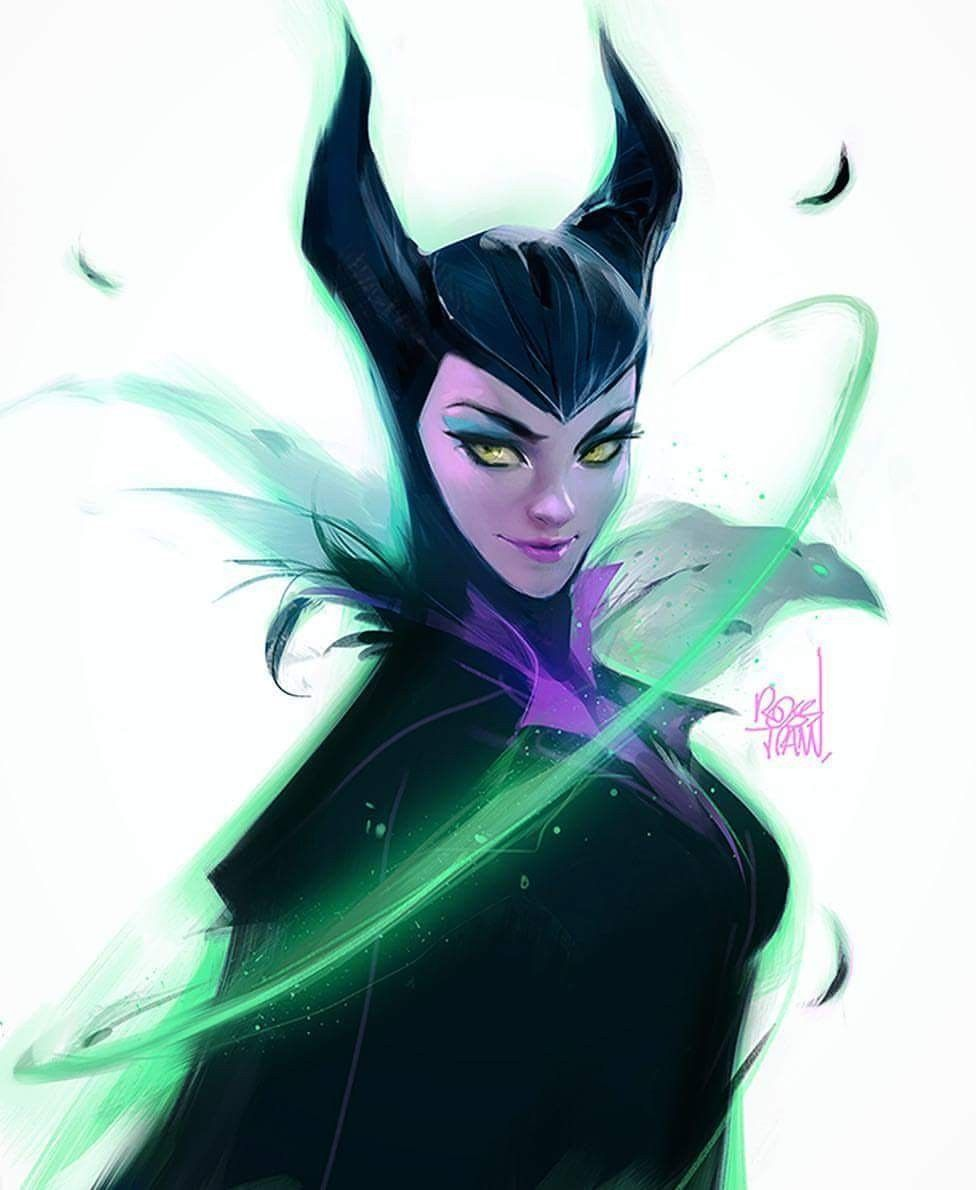 Ross Tran Maleficent Ross Tran Disney Art Maleficent