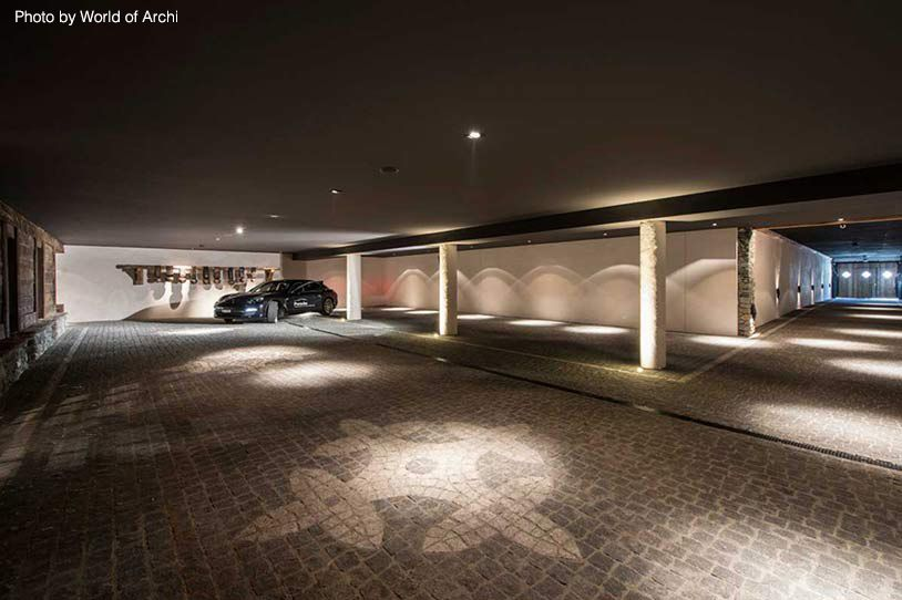 Cost To Build A Garage Metal Custom Garages More In 2020 Underground Garage Building A Garage Luxury Garage