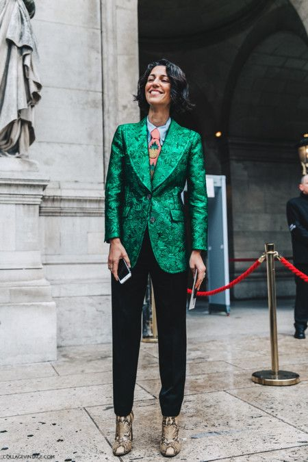 Pfw Paris Fashion Week Fall 2016 Street Style Collage Vintage Stella Mccartney Yasmin Sewell Gucci 2
