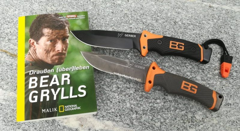Gerber Bear Grylls Ultimate Pro Survival Messer Infos Und Test