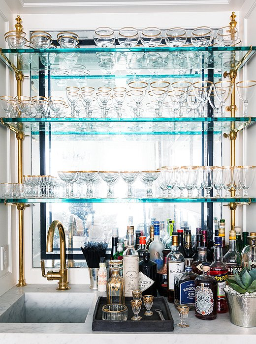 8 Super Stylish Home Bars | Stylish, Bar and Apartment therapy