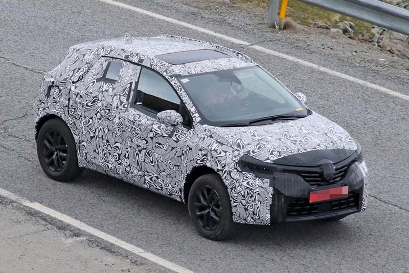 The Interior Design Of The Forthcoming 2020 Renault Captur Plug In