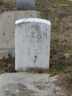 Pvt George Phillips 1894 thru 1980. Pvt. US Army. World War I.  VA