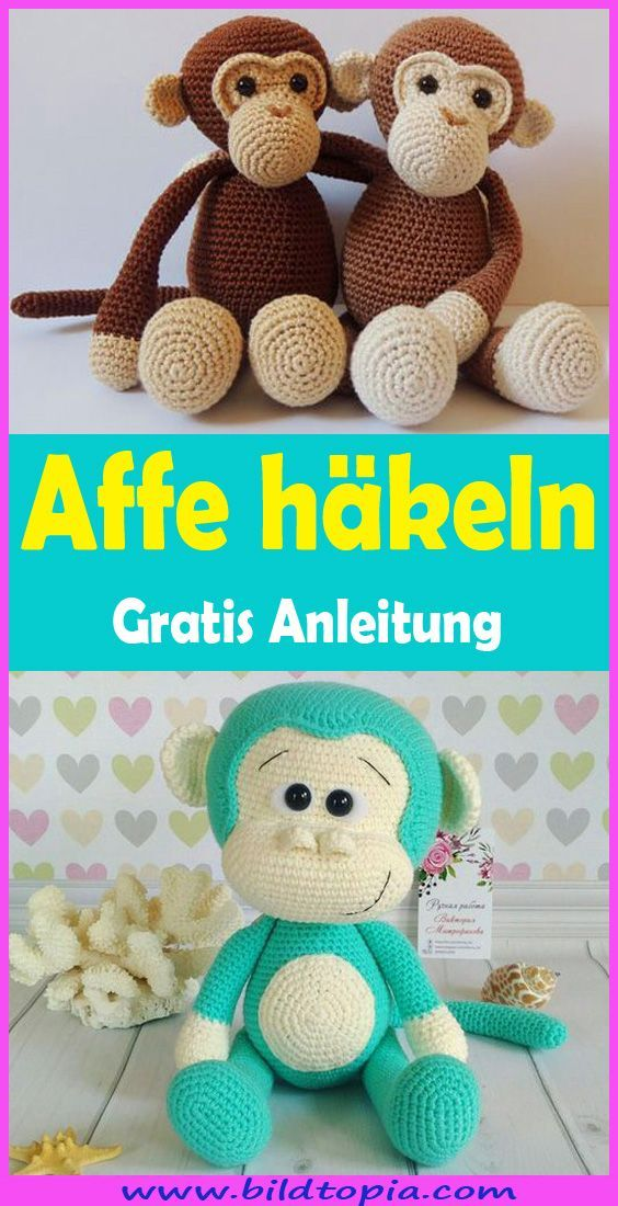 Photo of Affe häkeln – kostenlose & einfache Anleitung  #amigurumi #crochet #knitting …