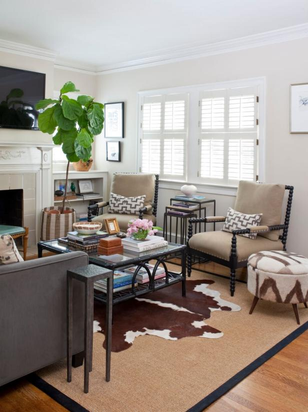 Hgtv Small Spaces Living Rooms: Small Home Decorating Tips And Home Tour