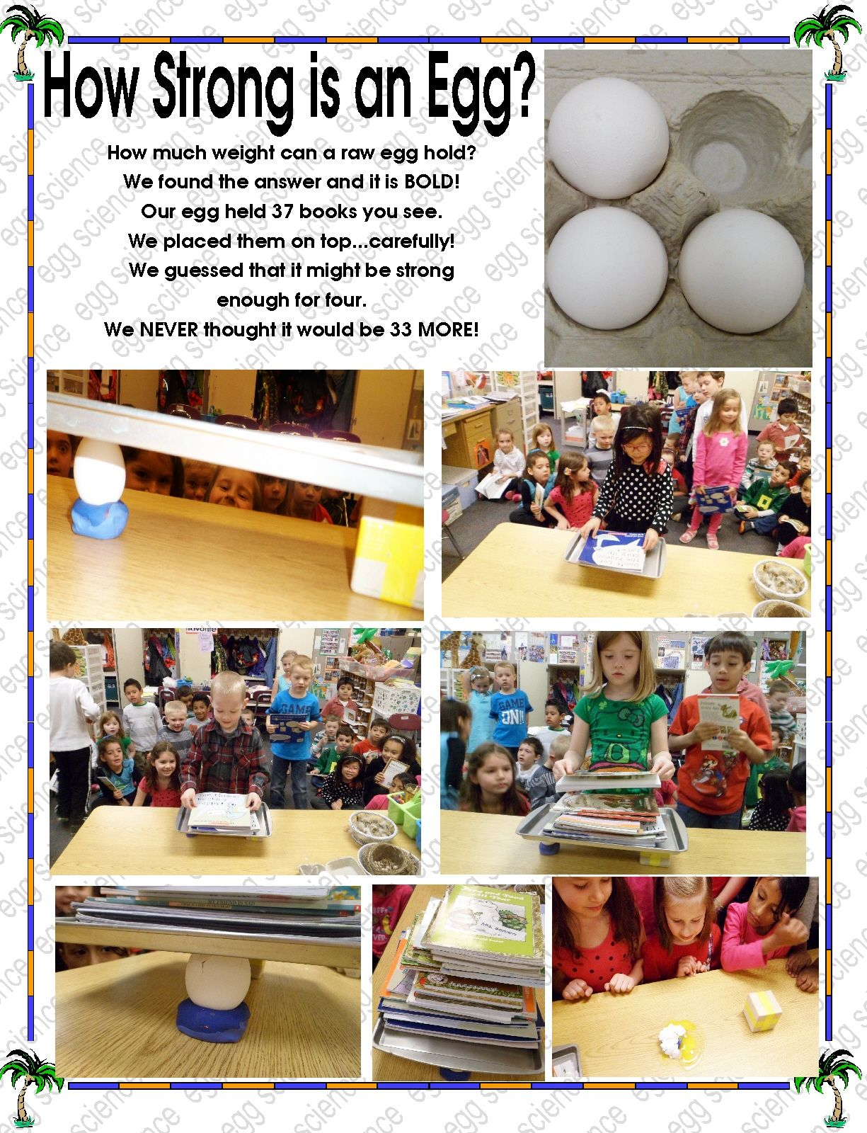 How Strong Is A Raw Egg Great Science Experiment