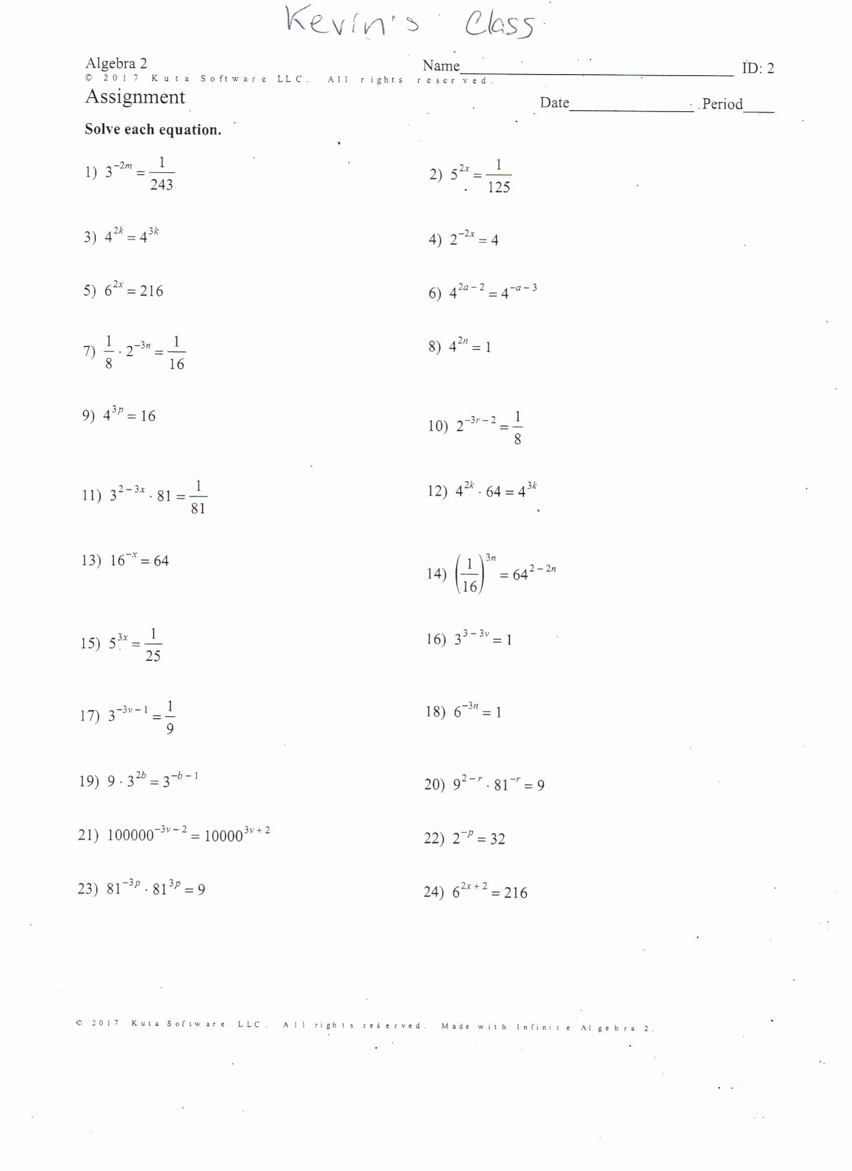 50 Solve By Factoring Worksheet In