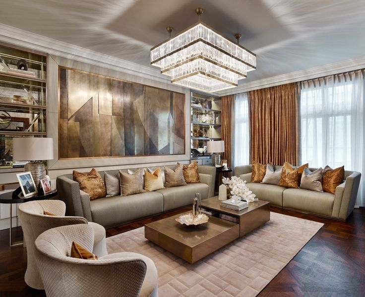 Pin by Laura Gier on YB-样板间 | Luxury living room design ...