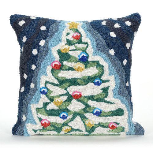 Found it at AllModern - Frontporch Xmas Tree Indoor/Outdoor Throw Pillow